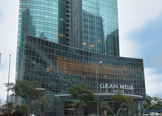 Gran Meliá Shanghai Hotel - opened in partnership of Cuba and China