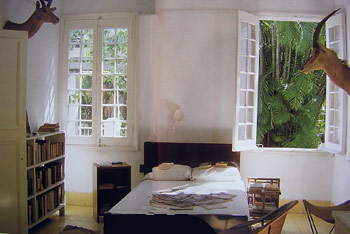 Hemingway bedroom at Finca Vigia, Cuba